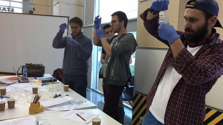 DNA Atölyesi : TOBB GARAJ'da gerçekleştirdik!